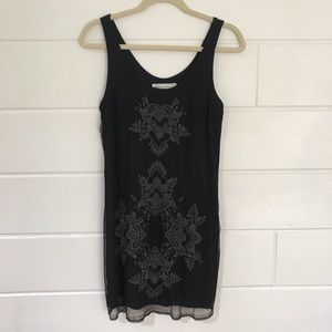 abercrombie & fitch embellished floral dress